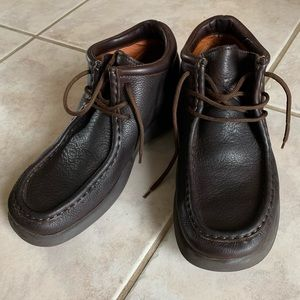 Charles Men's Leather Boots, Brown, Sz 11 (45 EUR)